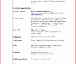 Proper Resume Format Templates Pdf For High School Students Canada ...