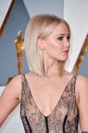 Structured Bob Hairstyles Jennifer Lawrence Oscars 2016be Beauty Pinterest Bobs