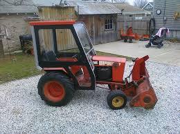 case garden tractor. A Better Winter Cab For My Case Garden Tractor P