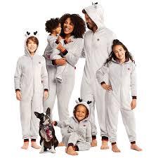 Jammin Jammies Size Chart Amazon Com Family Make It Rein Matching Pajamas Holiday