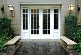 cost to install exterior door in wall installing french doors installing french doors cost to install