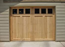 surprising garage door design wood screen