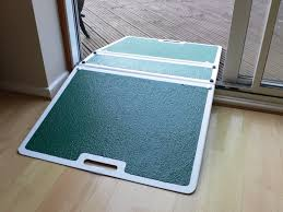 image of minimalist ramps for wheelchairs
