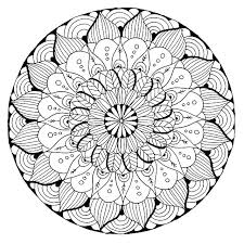Mandala Coloring Download Mandala Coloring Pages Free Page From App