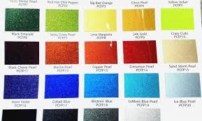 62 Systematic Matte Car Paint Color Chart