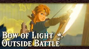 Light Bow Botw Getting Bow Of Light Outside Final Battle Zelda Breath Of The Wild Glitch