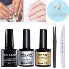 Fibernails Fiber Glass Gel <b>top</b> & base coat To Acrylic Nail Salon ...