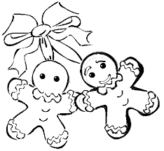 Christmas Gingerbread Man Coloring Pages At Getdrawingscom Free