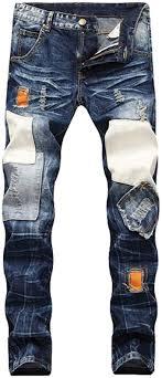 Pocket Jeans Design Wlejddd Ripped Destroyed Jean Homme Masculino Fashion Design