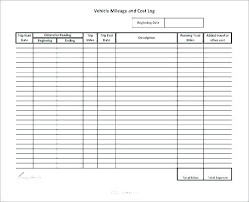 Car Mileage Claim Form Expenses Record Template Vehicle Mileage Log Expense Form