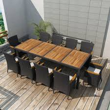 black wicker dining chairs. Appealing Harrows Outdoor Furniture For Your Decor: Marvelous Backyard Dining Room With Black Wicker Chairs T