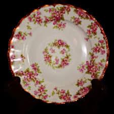 limoges elite works patterns vintage elite works limoges pink floral pattern bread plate