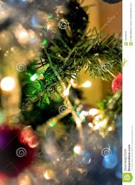Do All Christmas Lights Blink Christmas Tree Branch With Glowing Lights Stock Image