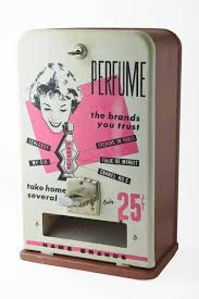 Vintage Perfume Vending Machine Stunning Vintage A B T Co MidCentury 48c Perfume Dispenser Vending Coin