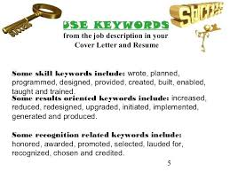 Key Words Cover Letter Keywords For Cover Letter Snaptasticshots