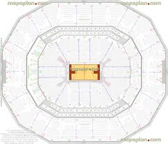 Yum Concert Seating Chart Kfc Yum Center Louisville Cardinals Ncaa Basketball Game