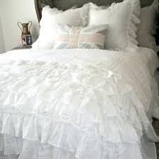ruffled duvet cover amazing ruffled duvet cover sewing tutorial girl inspired in white ruffle duvet cover
