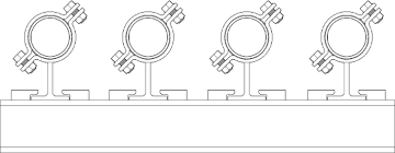 Pipe Spacing Chart Pipe Racks Or Pipe Bridges Are Structures Designed And Built