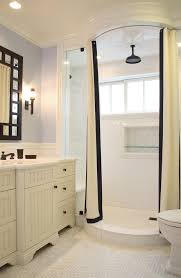 traditional shower designs. Traditional Shower Designs Bathroom With Inset Shelf White Moulding Subway Tile Wall N