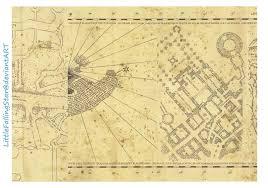 marauders map page  by littlefallingstar on deviantart