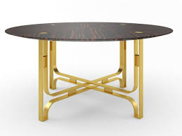 view in gallery gregory round table by marioni 900x675 35 modern dining tables that will make every dinner special