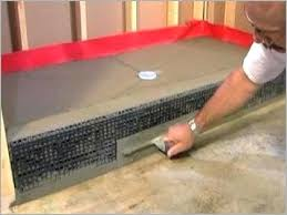 building a tile shower pan build custom tile shower a unique best ideas about tile shower