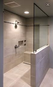 windows in the shower with bottom ones frosted? I like the bench/shelf in  the shower (for sitting or products) | Don't delete yet!