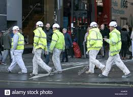 a group of professional painting contractors in manchester city centre