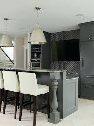 Basement Wet Bar Cabinets Basement Wet Bar Design Modern Basement