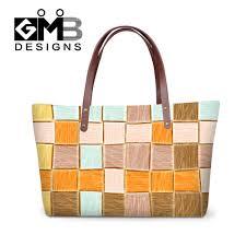 Designer Travel Bags Ladies Us 25 79 40 Off Vintage Style Women Handbags Casual Patchwork New Designer Hand Tote Bags Ladies Travel Shoulder Bags Big Capacity Shopping Bag In