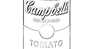 Campbell S Soup Coloring Page Master Coloring Pages
