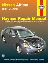 2007 2012 nissan altima fuse box diagram fuse diagram nissan altima 07 12 haynes repair manual · fuse box diagram