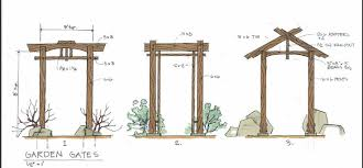 Small Picture Garden Gate Plans The Gardens
