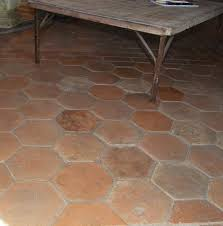 Terracotta Floor Tile Kitchen Reclaimed Hand Finished Terracotta Tiles 100 150 Years Old