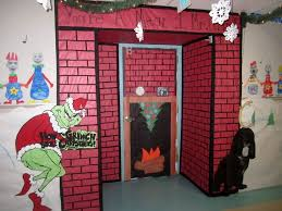 christmas office door decoration. Christmas Office Door Decoratingdeas Funny Santa Decoration N Decorations Halloween