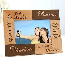 best friends picture frame personalized 4 x 6 photo template collage