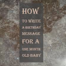 Happy Full Moon Baby Wishes What To Write In One Month Birthday Card