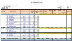 Project Estimate Template Excel 008 Construction Cost Estimate Template Excel India