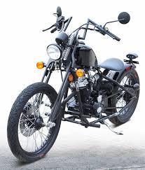 street legal bobber chopper motorcycle df250rta