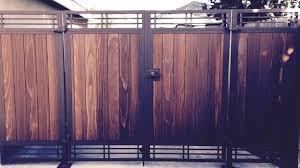 custom wood garden gate s s garden passages custom wood gates