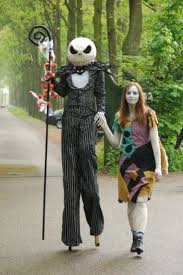 jack skellington and sally costumes from nightmare before