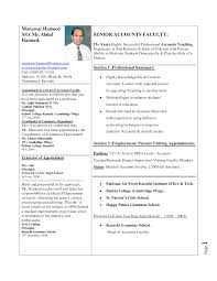 Easy Way To Write A Resume Resume Template Sample