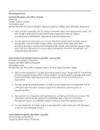 Bootstrap Resume Template Chronological Resume Template Simple