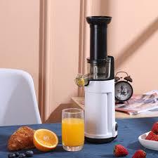 Máy ép chậm trái cây mini siêu kiệt bã dễ dàng tháo lắp vệ sinh, máy ép  trái cây nhỏ gọn tiện lợi chính hãng BH 12 tháng - Máy xay sinh