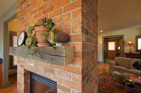 reclaimed wood mantel for outdoor fireplace