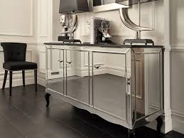 black orchid  mirrored sideboard  black gloss cabinet