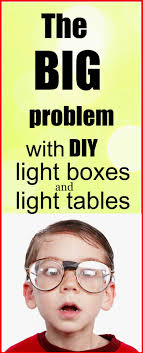 the big problem with diy light bo and light table
