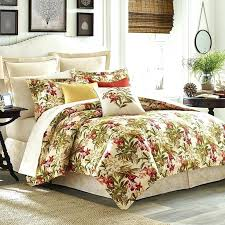 tommy bahama comforter sets queen bedding tropics set is printed on a soft cotton base includes tommy bahama comforter