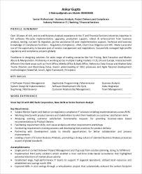 Agile Business Analyst Resume Sarahepps Com