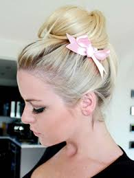 Hair Style Tip spice up your hairstyle with ribbons 1544 by stevesalt.us